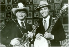 Bill Monroe & David on Fire on the Mountain 1986