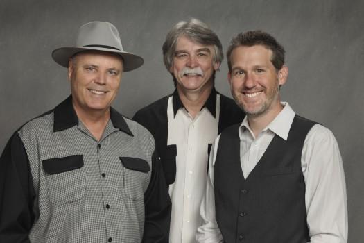 DRR Photo - #2  (L to R) David Holt, T. Michael Coleman & Bryan Sutton - Close up 2