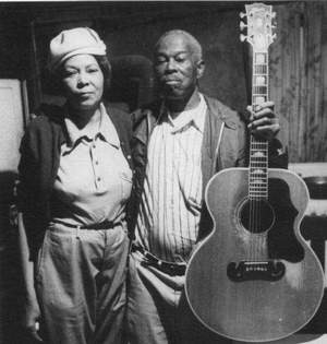 The mountain blues duo of Walter and Ethel Phelps (seen in a 1981 photo) were legends in Western North Carolina for decades. Grammy-winning folk star David Holt will celebrate their music - and other lesser known artists - in a new show called 'Carolina Heroes.' / Citizen-Times photo
