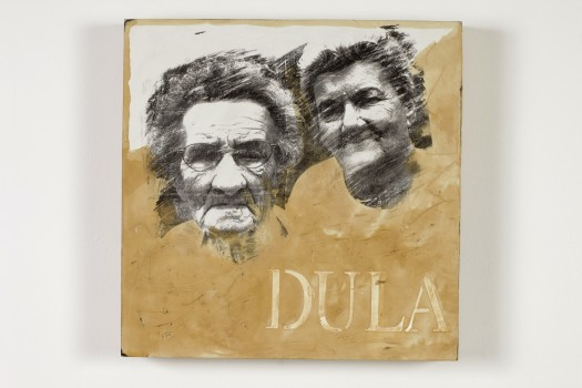 """Tom Dula's Family,"" Mixed Media, 2014"
